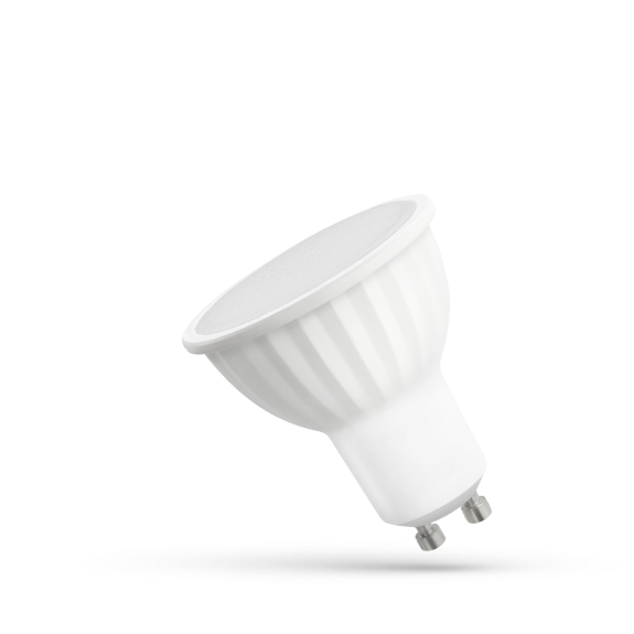 Светодиодная лампочка Spectrum LED GU10 230V 10W SMD, теплый свет