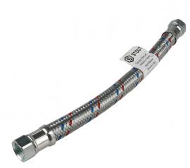 STOUT Гибкая подводка для воды ВР 3/4 х ВР 3/4, 500 мм