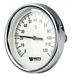 Watts F+R801 OR (TAS) 63/50 Термометр биметаллический с погружной гильзой 1/2