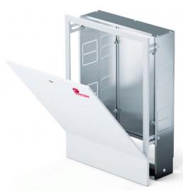 Wester Шкаф ШРВ-4 коллекторный встраиваемый 10 выходов распределительный