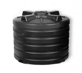 АКВАТЕК Бак для воды ATV 200 черный (штуцера)