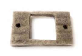 Прокладка смотрового окошка (прямоугольная)