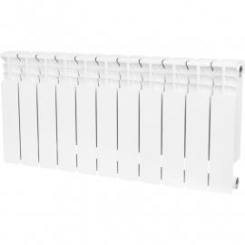 STOUT Space 500 Радиатор секционный биметаллический 11 секций боковое подключение