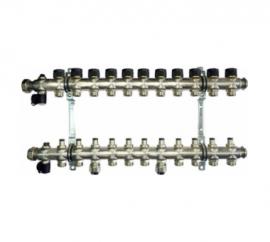 OVENTROP Группа коллекторная Multidis SF 11 со встроенными ротаметрами на 11 контуров