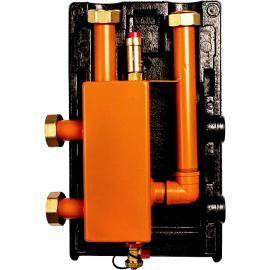 Meibes MHK 32 Гидравлический разделитель (гидрострелка) в теплоизоляции 3м3/час, 85 кВт, DN 32, PN6, вертикальный
