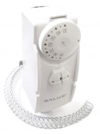 SALUS Термостат накладной AT10 (для крепления на поверхность трубы) с капиллярной трубкой