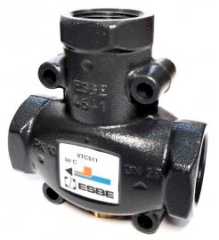 ESBE Клапан термостатический VTC511 50C, DN25, вн. 1, KVS 9 (51020100), для твердотопливных котлов
