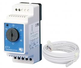 THERMO Термостат ETV-1991 с выносным датчиком температуры пола (3м)