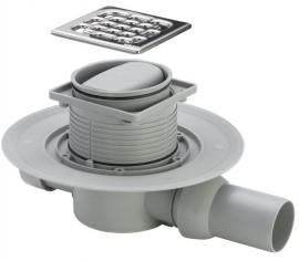 Viega Трап для ванной комнаты Advantix с сухим затвором (горизонтальный выпуск, модель 4936.2)