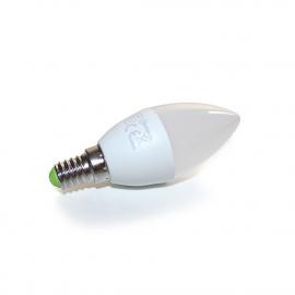 Светодиодная лампочка Spectrum LED свеча E-14 230V 6W, теплый свет