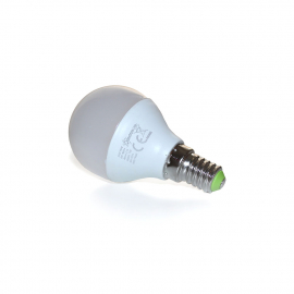 Светодиодная лампочка Spectrum LED шар E-14 230V 6W, теплый свет