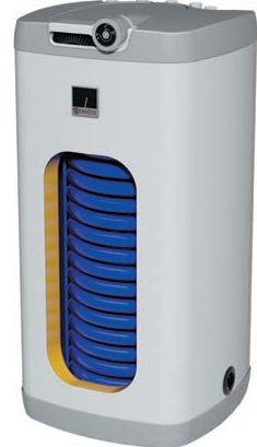 Drazice OKH 125 NTR/HV Накопительный водонагреватель (бойлер) косвенного нагрева квадратный, напольный