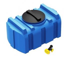 Polimer Group R-100 Бак для душа с лейкой синий
