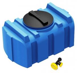 Полимер Групп R 200 Бак для душа с лейкой синий