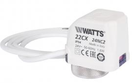 Watts Сервопривод 22CX24NC2 нормально-закрытый, 24V
