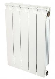 STOUT STYLE 350 4 секции Радиатор биметаллический боковое подключение (RAL9010)