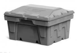 Polimer Group Ящик пластиковый 250л с крышкой, серый