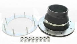 Polimer Group Гермоввод 90/110 фланец со шпильками (комплектация 2)